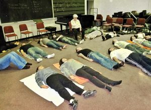 Music students at George Mason University are getting their first taste of the Feldenkrais Method.