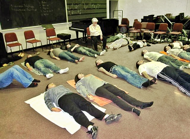 Feldenkrais Online Group Class, First Time