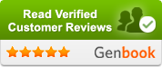 Here are reviews that clients have been written through my online booking service Genbook